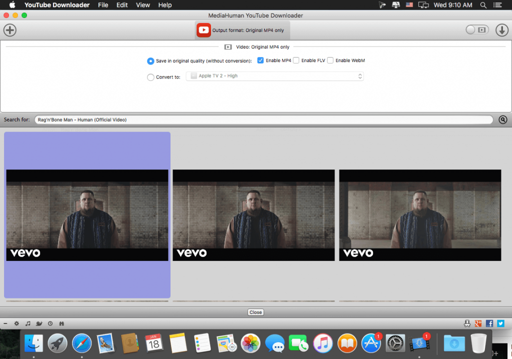 MediaHuman YouTube Downloader 3 for Mac Free Download