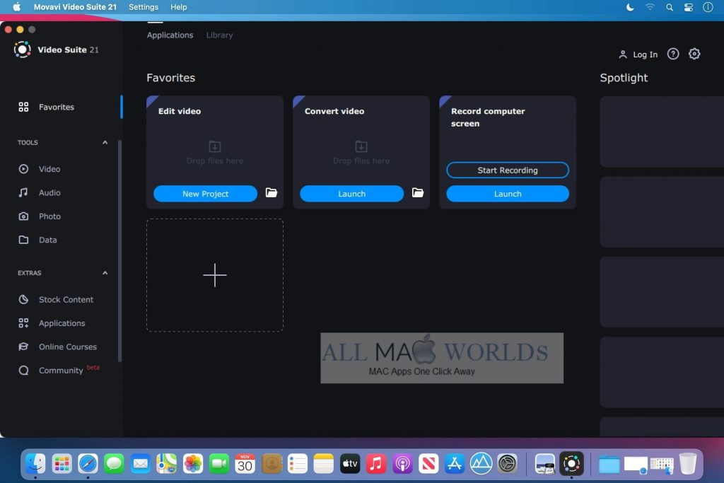 Movavi Video Suite 2021 v21 For Mac Free Download